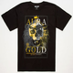 AURA GOLD Crowned King Mens T-Shirt