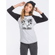 YOUNG & RECKLESS Palms Womens Baseball Tee