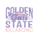 BILLABONG Golden Cali State Sticker