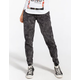 ALMOST FAMOUS Crave Fame Acid Womens Knit Denim Jogger Pants