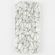 White Geo Fold iPhone 5/5S Case
