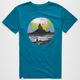 ALTAMONT Psychedelic Sky Mens T-Shirt