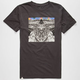 ALTAMONT Mirrored Mountains Mens T-Shirt