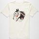 ALTAMONT Horse Skull Mens T-Shirt