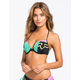 FOX Vandal Push Up Halter Bikini Top