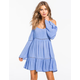 SOCIALITE Cold Shoulder Dress