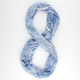 French Lace Trim Infinity Scarf