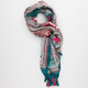 Antique Paisley Tassel Scarf