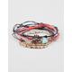 FULL TILT 5 Piece Love/Leaf/Turquoise Bracelets