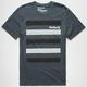 HURLEY Bando Stripe Dri-FIT Mens T-Shirt