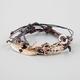 FULL TILT 4 Piece Feather/Love/Geo Bracelets