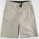 BLUE CROWN Mens Chino Shorts