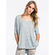 FULL TILT Be Free Womens Dolman Top