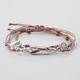 FULL TILT 3 Piece Feather/Eye/Arrow Bracelets