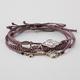 FULL TILT 4 Piece Key/Triangle/Circle Bracelets