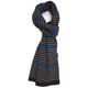 BLUE CROWN Stripe Scarf