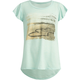 FULL TILT Beach Girls Hi Low Flutter Sleeve Tee