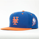 AMERICAN NEEDLE Blockhead Mets Mens Snapback Hat