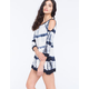 RAVIYA Cold Shoulder Dress Cover-Up