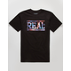 REAL SKATEBOARDS Space Bar Mens T-Shirt