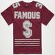 FAMOUS STARS & STRAPS Heavy Hitter Mens T-Shirt