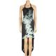 RUSTY Stranded Maxi Halter Dress