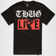 FAMOUS STARS & STRAPS Thug Mag Mens T-Shirt