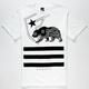 FAMOUS STARS & STRAPS Cali Bear Mens T-Shirt
