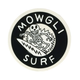 MOWGLI SURF Electric Bones Sticker