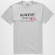 BURTON Durable Goods Mens T-Shirt