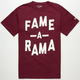 HALL OF FAME Fame A Rama Mens T-Shirt