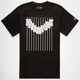 HALL OF FAME Pinstripes Mens T-Shirt