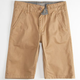 CHARLES AND A HALF Brushed Twill Boys Shorts