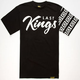 LAST KINGS Checked Mens T-Shirt