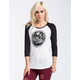 HURLEY Bottle Cap Womens Baseball Tee