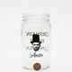 Abester Lincoln Mason Jar
