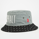 AYC Nyjah Caution Mens Reflective Bucket Hat