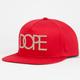 DOPE Gold 24K Mens Snapback Hat