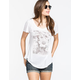 FULL TILT Daisy Think Happy Stay Happy Womens Tee