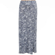 FULL TILT Paisley Print Girls Side Slit Maxi Skirt