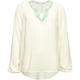 FULL TILT Embroidery Pop Girls Peasant Top