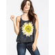 FULL TILT Daisy Mineral Wash Womens Tank
