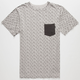 MATIX Folk Mens Pocket Tee