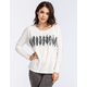 RVCA Feather Stripe Womens Tee