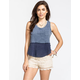 FULL TILT 2Fer Womens Pocket Tank
