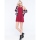 FULL TILT High Neck Swing Dress