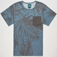 ELWOOD SVRF Shady Palms Mens Pocket Tee