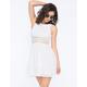 FULL TILT Lace Racerback Dress