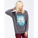 FULL TILT Live Free Pyramid Womens Tunic