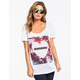 FULL TILT CA Heart Palms Womens Tee